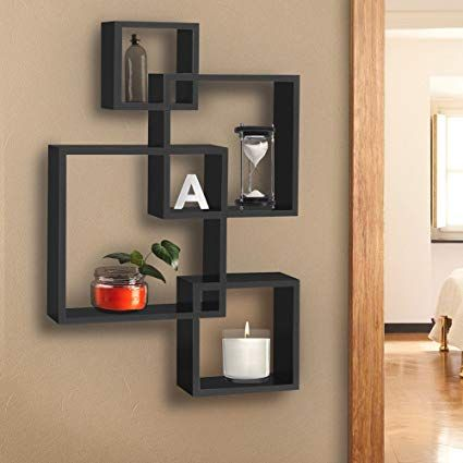 Amazon.com: Shelf Wall Art BCP Intersecting Squares