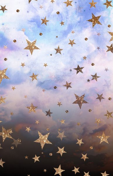 Wildsunshine Society6 Com Product Cloudy Stars Bnp Print Pretty Wallpapers Cute Wallpaper Backgrounds Wallpaper Backgrounds