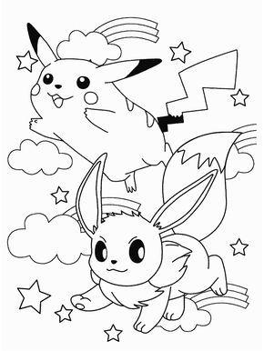 Pokemon Grandparents Pikachu Coloring Page Pokemon Coloring