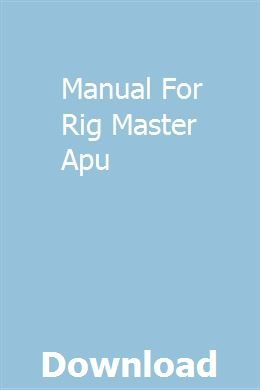Rigmaster Apu Wiring Diagram from i.pinimg.com