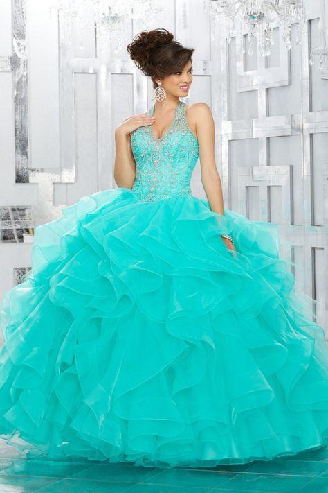 VIZCAYA BY MORI LEE 89144 QUINCEANERA DRESS