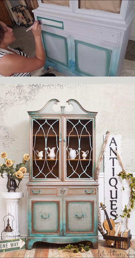 Learn how to use Dixie Belle Paint on your furniture