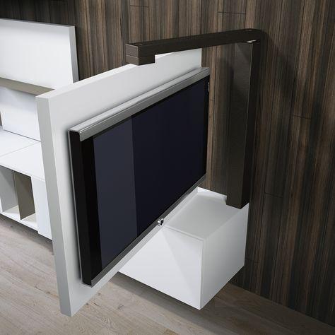 Lc Design Porta Tv.Porta Tv Orientabile Girevole Full 360 Dettaglio Prodotto