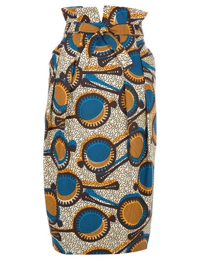 Shop for tribal print skirt by Stella Jean at ShopStyle.