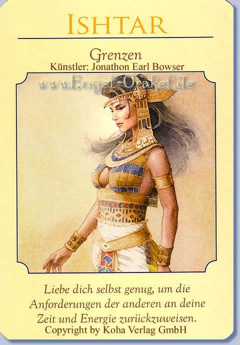 koha verlag karte ziehen Ishtar   Grenzen, das Orakel der Göttinnen von Doreen Virtue