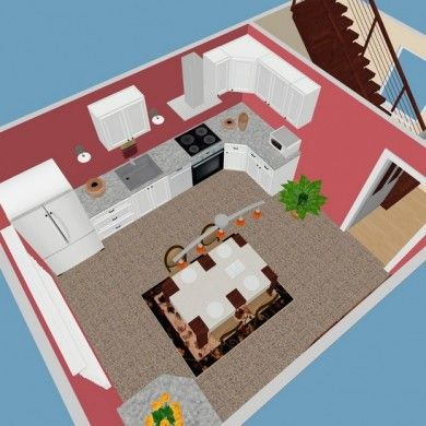 Sweet Home 3D - free interior design app - can be downloaded or used - logiciel creation maison 3d gratuit