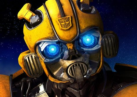 Bumblebee Transformers autobots and decepticons movie poster