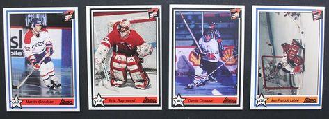 1990-91 7th Inning Sketch QMJHL Hockey Cards Lot Of 4 Cards