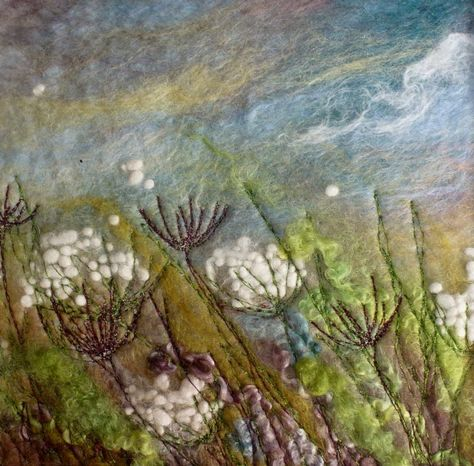Welcome to Gallery Room 1 Caren's CollectionUsing wool and silk fibres in a 'painterly' way and using felting techniques, I produce warm and textural felt 'paintings' I use the fibres as if they were