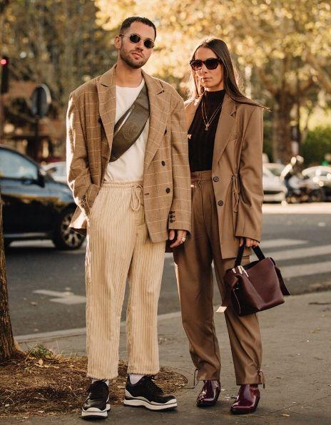 Kislik Bayan Takim Elbise Modelleri 2019 Sokak Tarzi Erkek Paris Street Fashion Paris Modasi