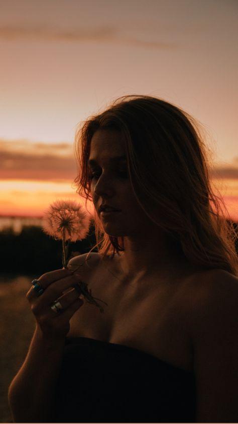 Summer Portrait Photography, Creative Portraits, Sunset Portraits