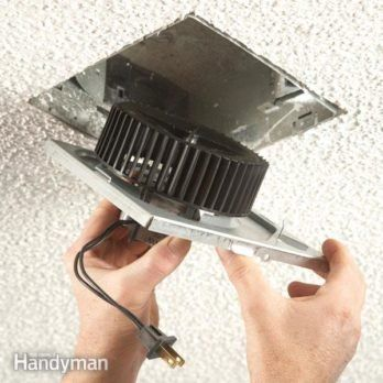 Use An In Line Fan To Vent Two Bathrooms Bathroom Exhaust Fan Bathroom Fan Exhaust Fan