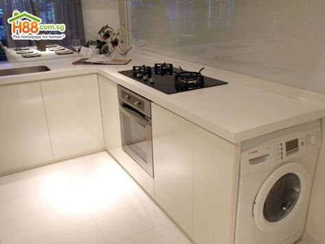 Inspiration: Washers & Dryers in the Kitchen