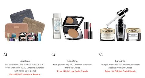Lord and Taylor: 15% off beauty