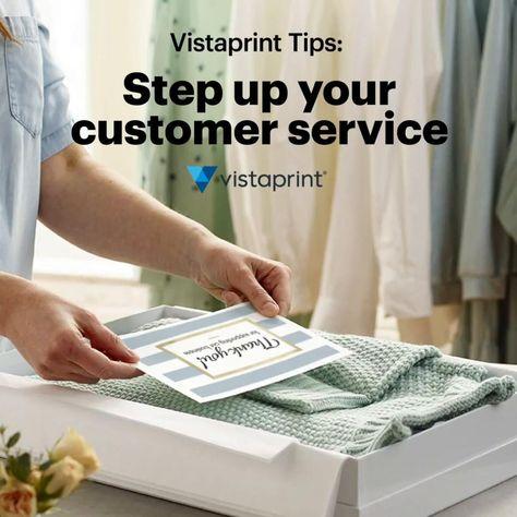 Vistaprint Small Business Tips   Customer Service