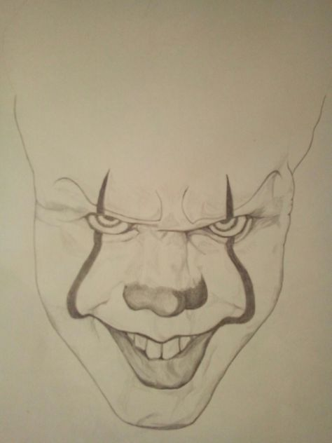 It El Payaso Pennywise Dibujos Terrorificos Dibujos Dibujos