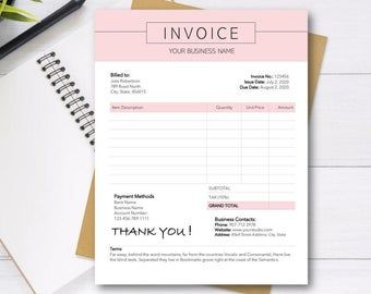 Printable Invoice Template Ms Word Receipt Template Photoshop Receipt Template In 2021 Invoice Template Printable Invoice Receipt Template