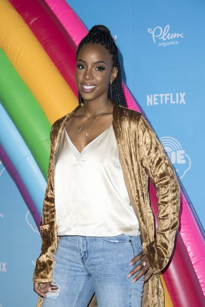 Singer Kelly Rowland attends the Netflix Original Series 'True and the Rainbow Kingdom.'
