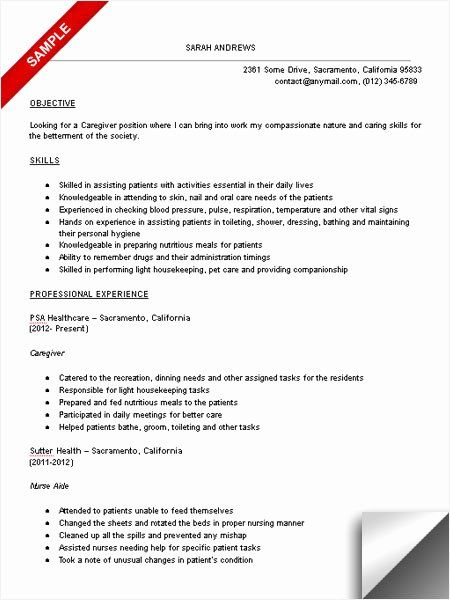 Pin By In God I Trust On My Saves In 2021 Job Resume Samples Resume Examples Caregiver Skills