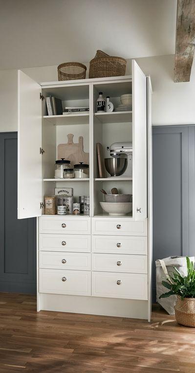 Kitchens Tall Kitchen Cabinets Kitchen Fittings Larder Unit