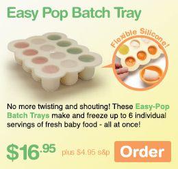 Easy Pop Batch Tray Babybulletmommy Baby Bullet Mother S Day Pinterest Babies
