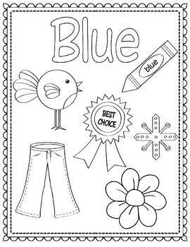 Colors And Shapes Coloring Sheets Posters Prek Math Kinder Math Kindergarten Colors Color Worksheets For Preschool Preschool Coloring Pages