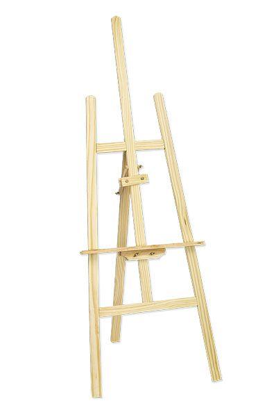 Artina Akademie-Staffelei Sevilla aus Kiefern-Holz f/ür Keilrahmen bis 120cm mit h/öhenverstellbarer Malauflage