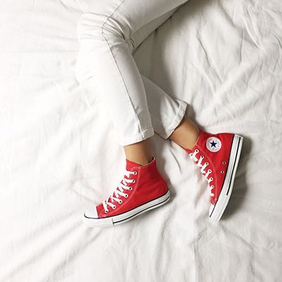 converse all star femme rouge