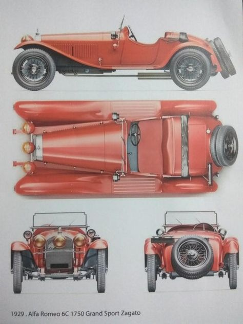 Build Your Dream Car (Alfa Romeo Vintage in Wood) : 18 Steps (with Pictures) - Instructables