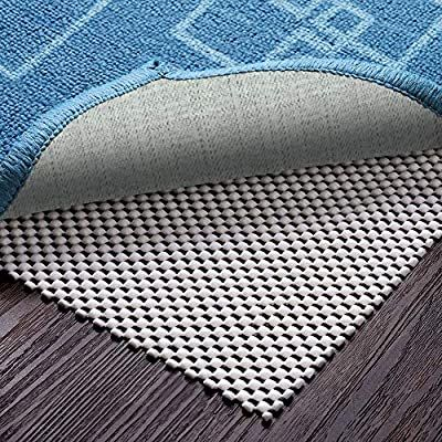 Amazon Com Veken Non Slip 5 X 8 Ft Extra Thick Gripper For Any Hard Surface Floors White Kitchen Dining In 2020 Area Rug Pad Rug Pad Cool Rugs