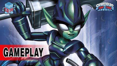 Skylanders Trap Team DARK Element Expansion Pack Gameplay #skylanders #toys #collecting #videogame
