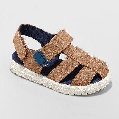 Fisherman sandals, Boys sandals, Brown