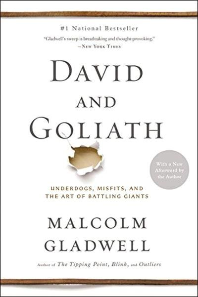 #medicine Malcolm Gladwell's provocative new  #1 bestseller -- now in paperback. Three thousand years ago on a battlefield in ancient Palestine, a shepherd boy felled a mighty warrior with nothing more than a pebble and a sling-and ever since, the names of David and Goliath have stood for battles between underdogs and giants. David's victory was improbable and miraculous. He shouldn't have won  Read Malcolm Gladwell's book David and Goliath: Underdogs, Misfits, and the Art of Battling Giants. Pu