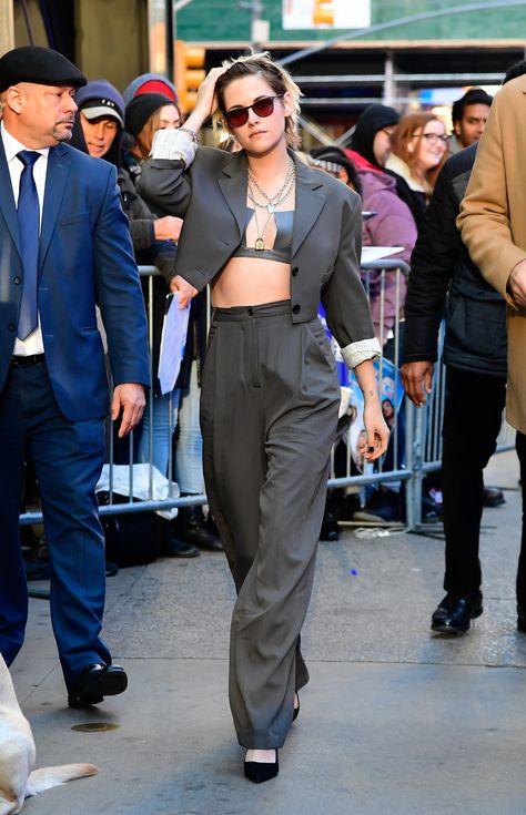 Nobody Subverts the Suit Like Kristen Stewart   Vogue