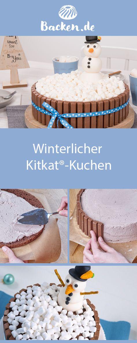 Süßigkeiten-Fans wird das Herz höher schlagen: Dieses Rezept vereint knusprige Schoko-Waffel-Riegel und Schokolinsen auf einer 3-stöckigen Sahnetorte.
