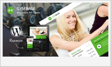 20 Top Fitness  Gym WordPress Templates