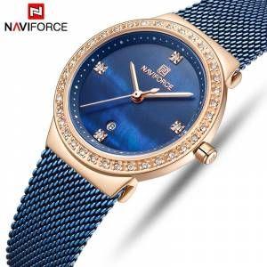 Naviforce Bayan Kol Saati Sade Sik Kibar Nf153 Hasir Kordon Takvimli Kadin Saat Ucretsiz Kargo Gittigidiyor Bayan Saatleri Kadin Saat Kadin