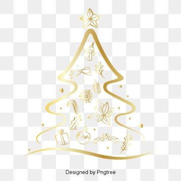 Champagne Personality Christmas Elements Beautiful Festive Png And Vector With Transparent Background For Free Download Christmas Lights Background Realistic Christmas Trees Christmas Tree Background