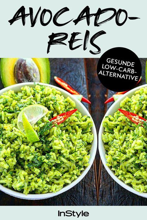 Avocado Reis hört sich nicht nur lecker an, sondern ist auch noch super gesund UND kalorienarm! Hier gibt's das Rezept! #instyle #instylegermany #avocado #avocadoreis #reis #lowcarb #gesund #food #rezept #abnehmen #diät