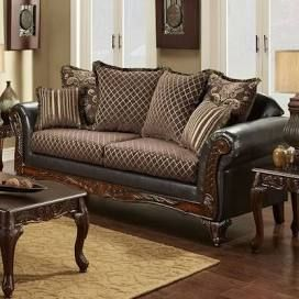 Leather And Fabric Sofa Images Google Search Sofa Burgundy Living Room Sofa Images