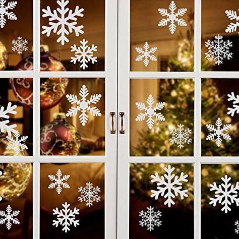 Dekoration Fensterschmuck 9 x Weihnachtsbaumschmuck //Christbaumschmuck //Glas