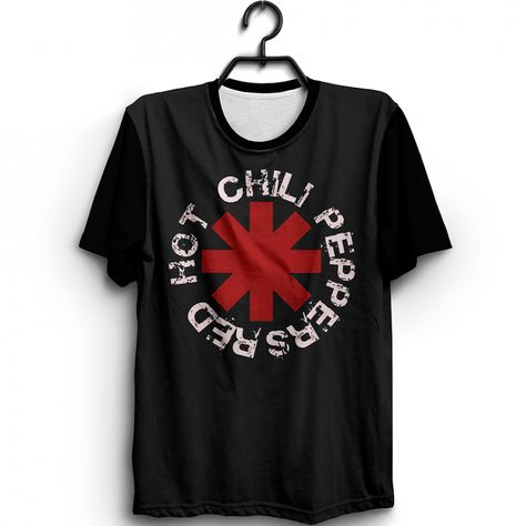 Camiseta Red Hot Chilli Peppers Logo - ROCK/POP/INDIE