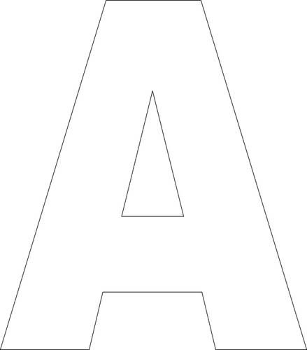 Printable alphabet templates, great for sewing crafts....like a birthday banner