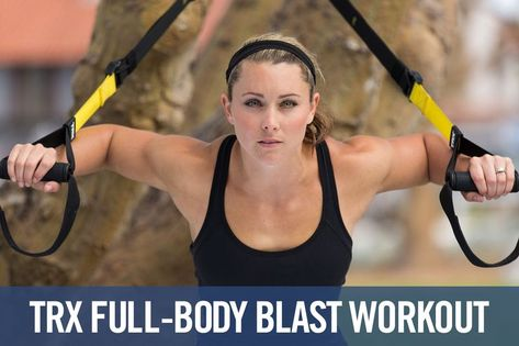 TRX Full-body Blast Workout
