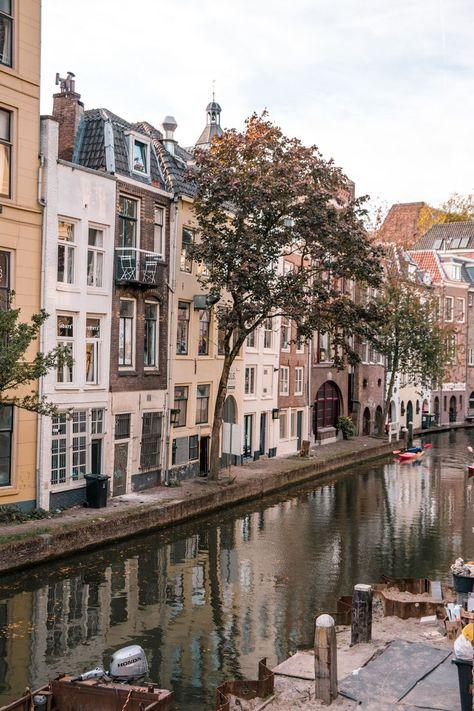 Day Trip to Utrecht, Nethrelands Places Around The World, Travel Around The World, Around The Worlds, City Aesthetic, Travel Aesthetic, Utrecht, Places To Travel, Places To Go, Croatia Travel