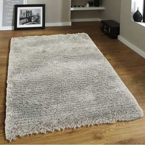 Hand Tufted Quarry Grey Area Rug Floor