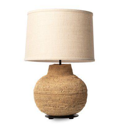 Ngala Trading Co Buhera Basket 19 Table Lamp Table Lamp Lamp Artisan Lamps