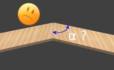 Comment Assembler Deux Champlats Avec Un Angle Inhabituel Angles Charniere Invisible Charnieres
