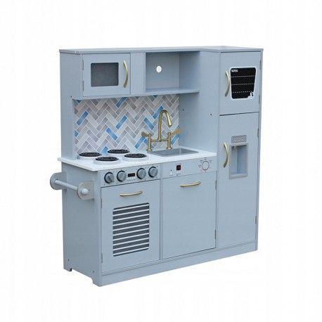 Drewniana Kuchnia Dla Dzieci Modern Duza Zestaw Locker Storage Storage Lockers