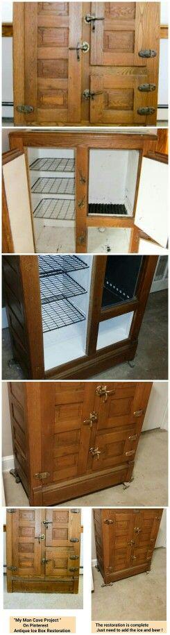 The Antique Ice Box We Picked Up On, Craigslist Vintage Furniture Maryland